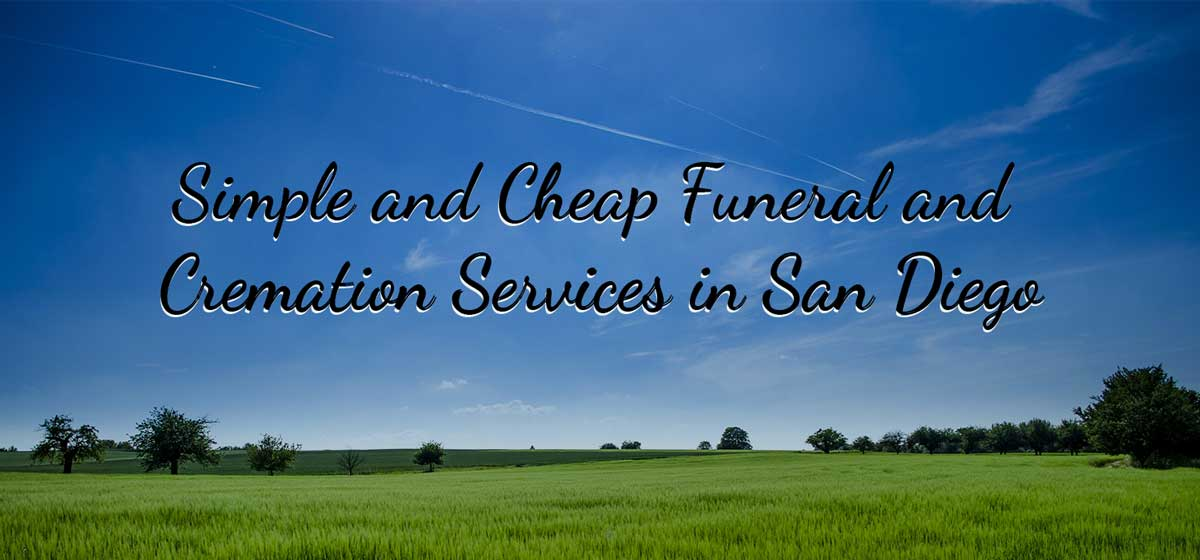 Cremation Services in San Diego